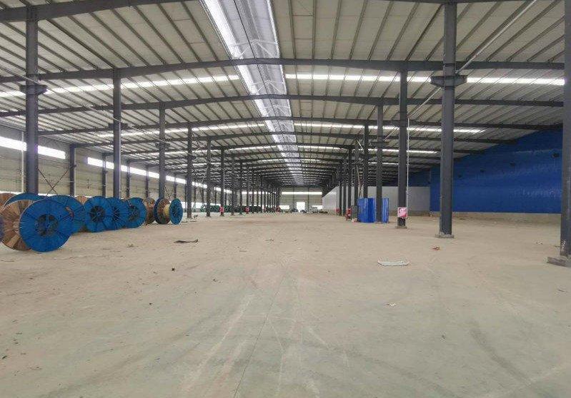 出租德阳中江厂房13000平单层钢结构