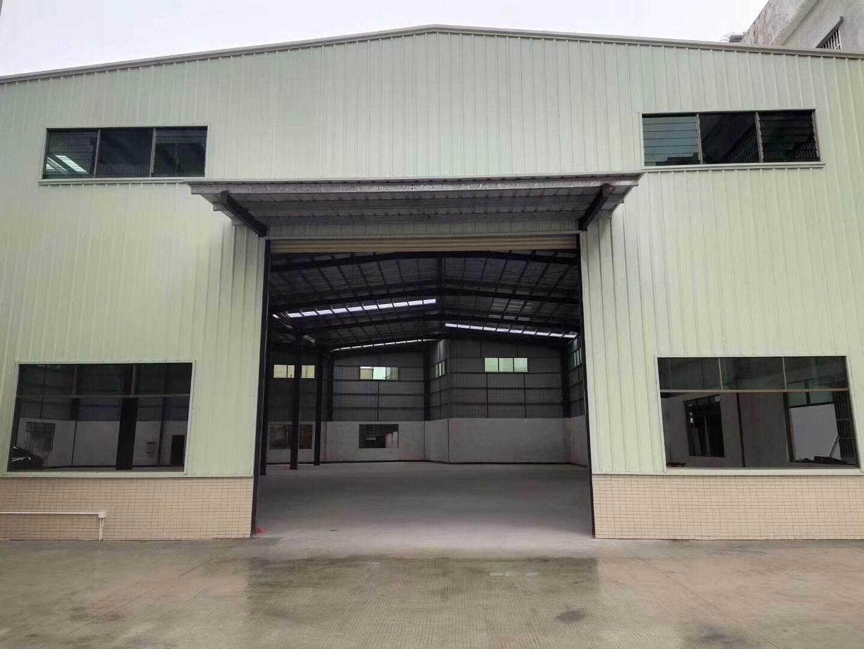 原房东独栋钢构厂房国道边500平米还送300空地