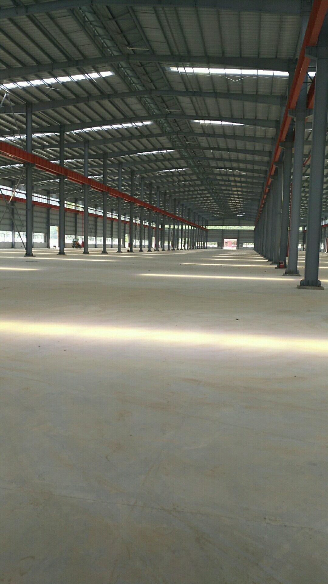 广东省肇庆市全新钢构带航车,超长流水线,中高13米厂房出租