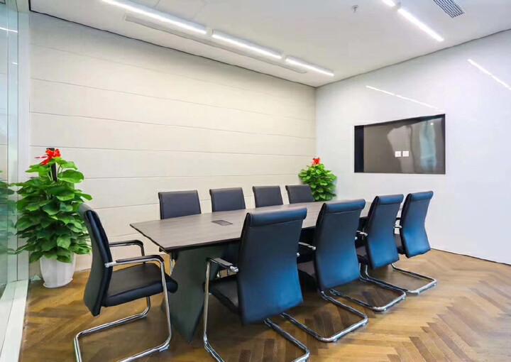 西乡银田园林式写字楼1113平带隔间配套齐全拎包办公图片5