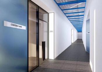西乡银田园林式写字楼1113平带隔间配套齐全拎包办公图片6
