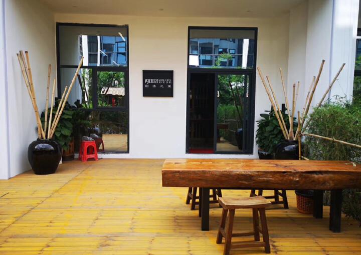 龙华明治新出一楼复式办公室,豪华装修,送135平私人花园图片8