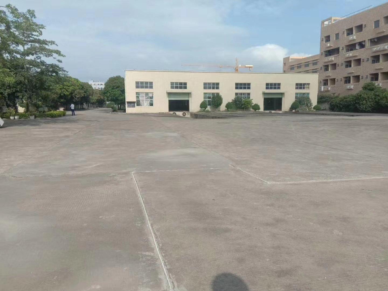 惠阳区新出独院钢构厂房14000平方空地20000平方