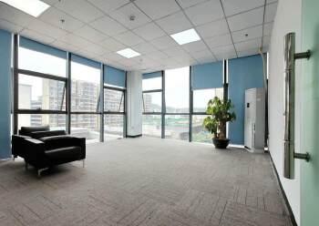 固戍地铁口800米精装办公室出租可定制装修图片4