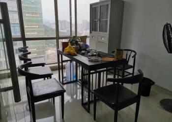 西乡精装办公室出租带家私隔间高楼层采光好图片5