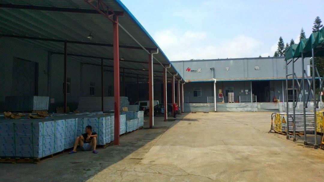 惠州市镇隆镇工业区超大空地钢构厂房招租单一层5000㎡