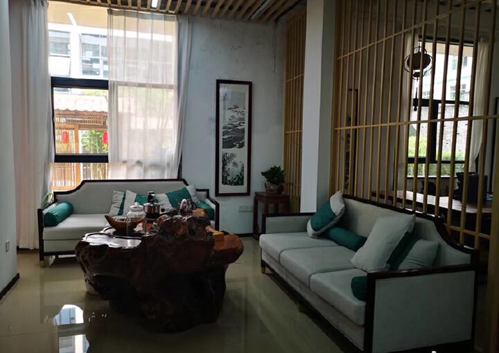 龙华明治新出一楼复式办公室,豪华装修,送135平私人花园图片7