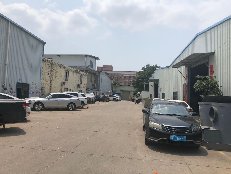 惠阳区新圩镇塘吓村国道边钢构厂房出租带精装修办公室可做仓库