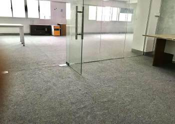 龙华大浪布龙路旁新出338平精装修办公室招租,户型方正图片4