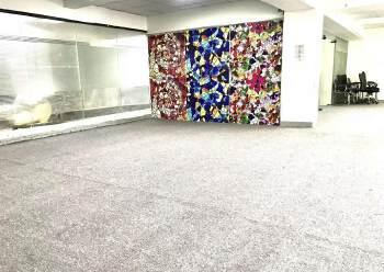 龙华大浪布龙路旁新出338平精装修办公室招租,户型方正图片2