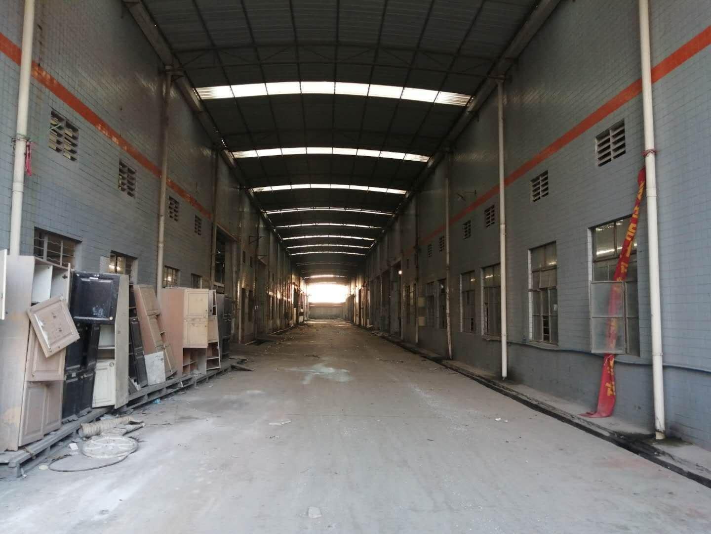 原房东独门独院砖墙到顶单一层仓库出租,面积实量