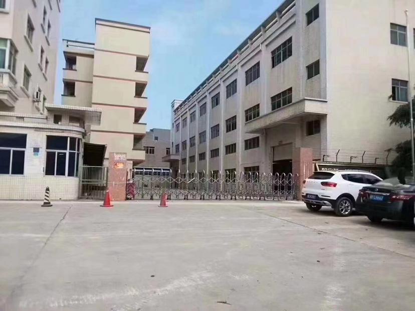 博罗龙溪原房东独院标准厂房4600平招租一楼6.5米带牛角