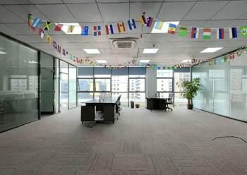 固戍地铁口800米精装办公室出租可定制装修图片2