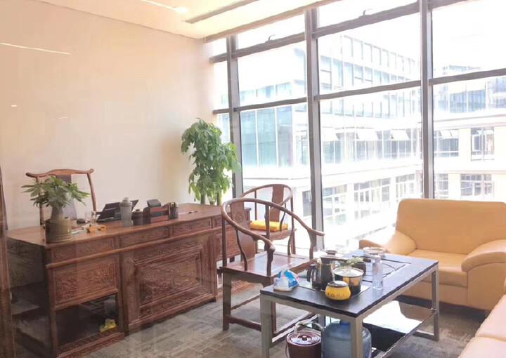 西乡银田园林式写字楼1113平带隔间配套齐全拎包办公图片9