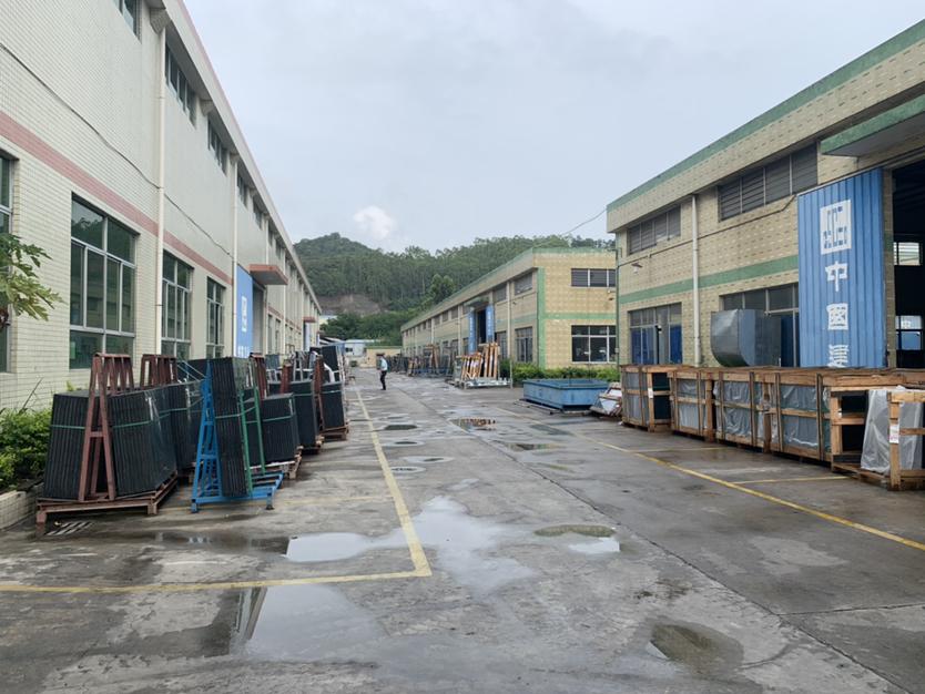 博罗县杨村镇全新滴水12米高单一层钢构厂房5000平