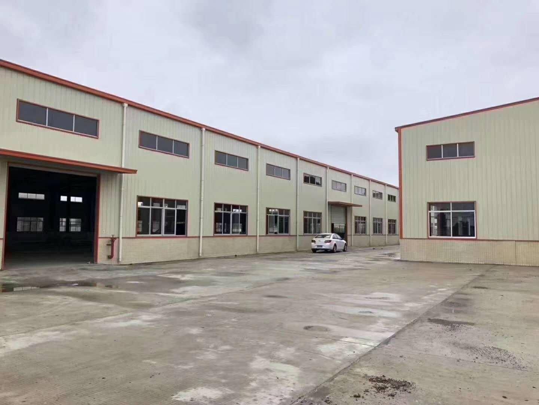 园洲新出钢结构单一层厂房仓库招租5500平
