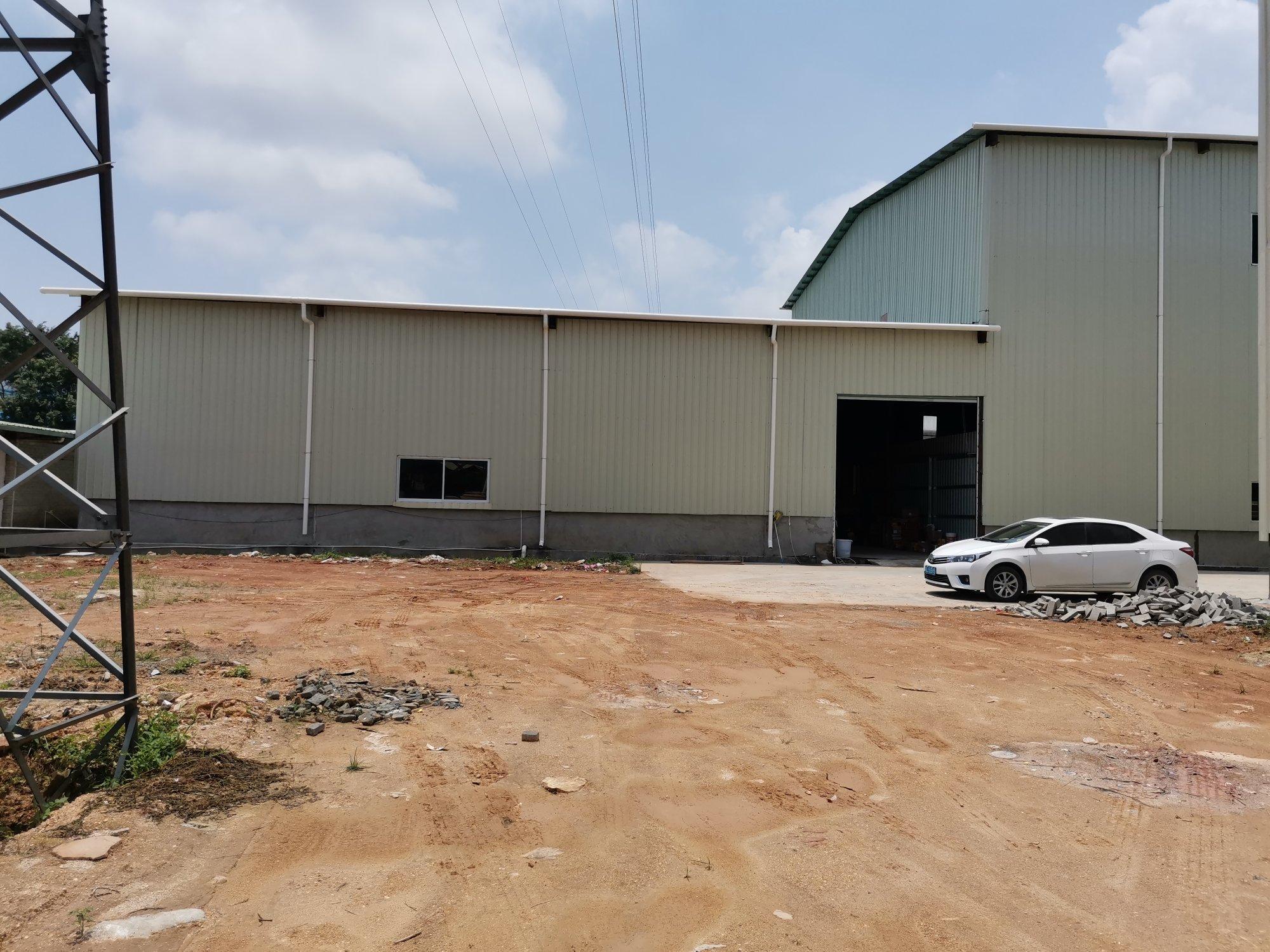 博罗阳镇建筑9000高10米钢构村委合同厂房出售