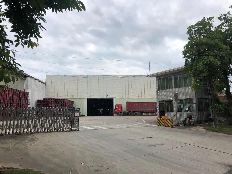 三水白泥20000平方标准仓库钢结构滴水11米可分租租期灵活