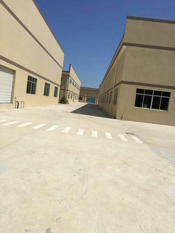 博罗新出5500平全新钢结构厂房出租证件齐全形象好空地大