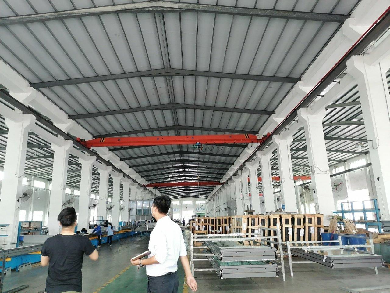 惠州市惠城区3500平独门独院钢构万博app官方下载滴水9米