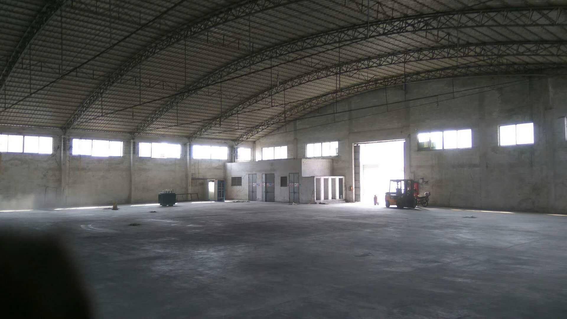 广东中山黄埔工业区3000方仓库出租,交通便利,易招工。