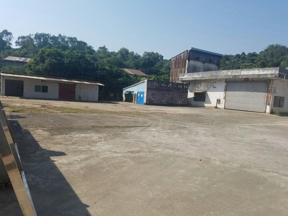 广州增城区石滩镇近高速占地7.6亩国有证工业方正空地低价出售