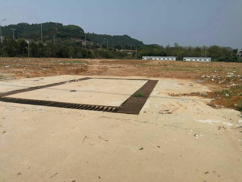 广州增城石滩镇近高速占地32亩国有证可报建方正地皮低价出售