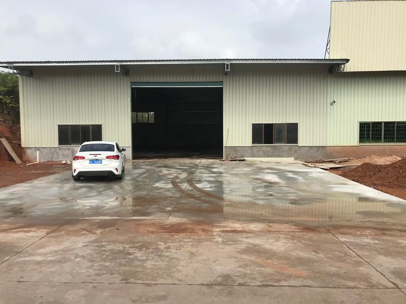 (真实在租)小金口全新钢构铁皮房450平超大空地