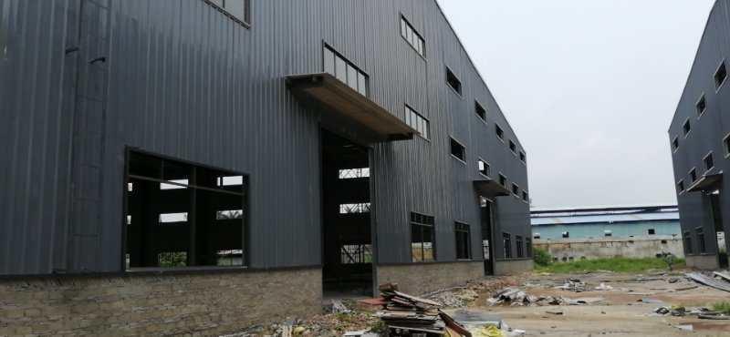 独院全新钢结构5000平方滴水8米
