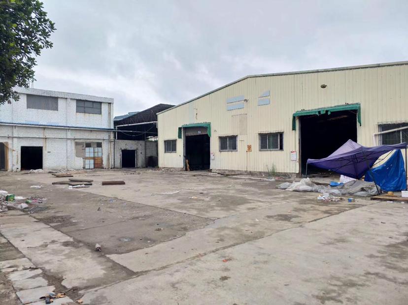 博罗龙溪原房东独院单一层厂房5000平招租翻新中周边无居民