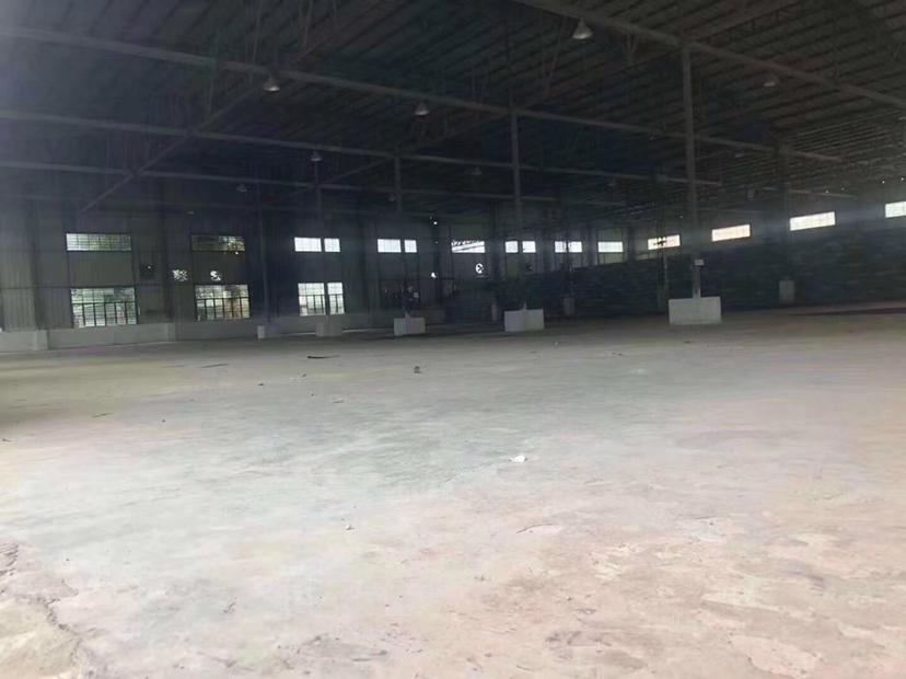 博罗龙溪原房东独院钢构厂房1800平招租空地有1000平