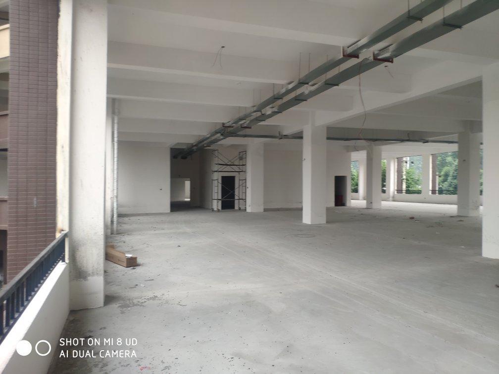 砖混结构,单层5米层高,可以分租,