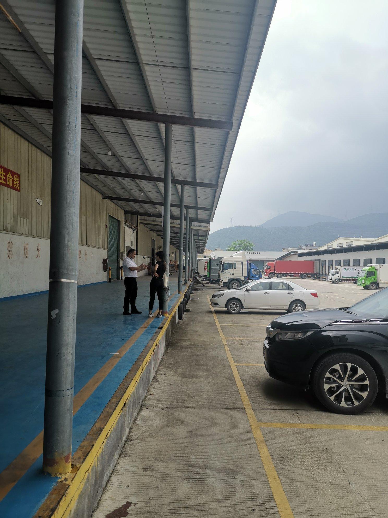 盐田港附近新出层高8米单一层标准物流仓库6000平