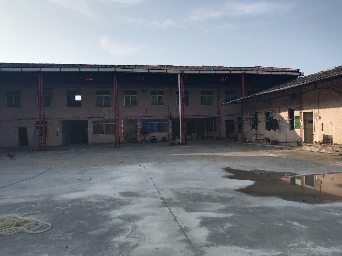 花都区炭步镇原房东工业区独门独院,单一层厂房仓库出租