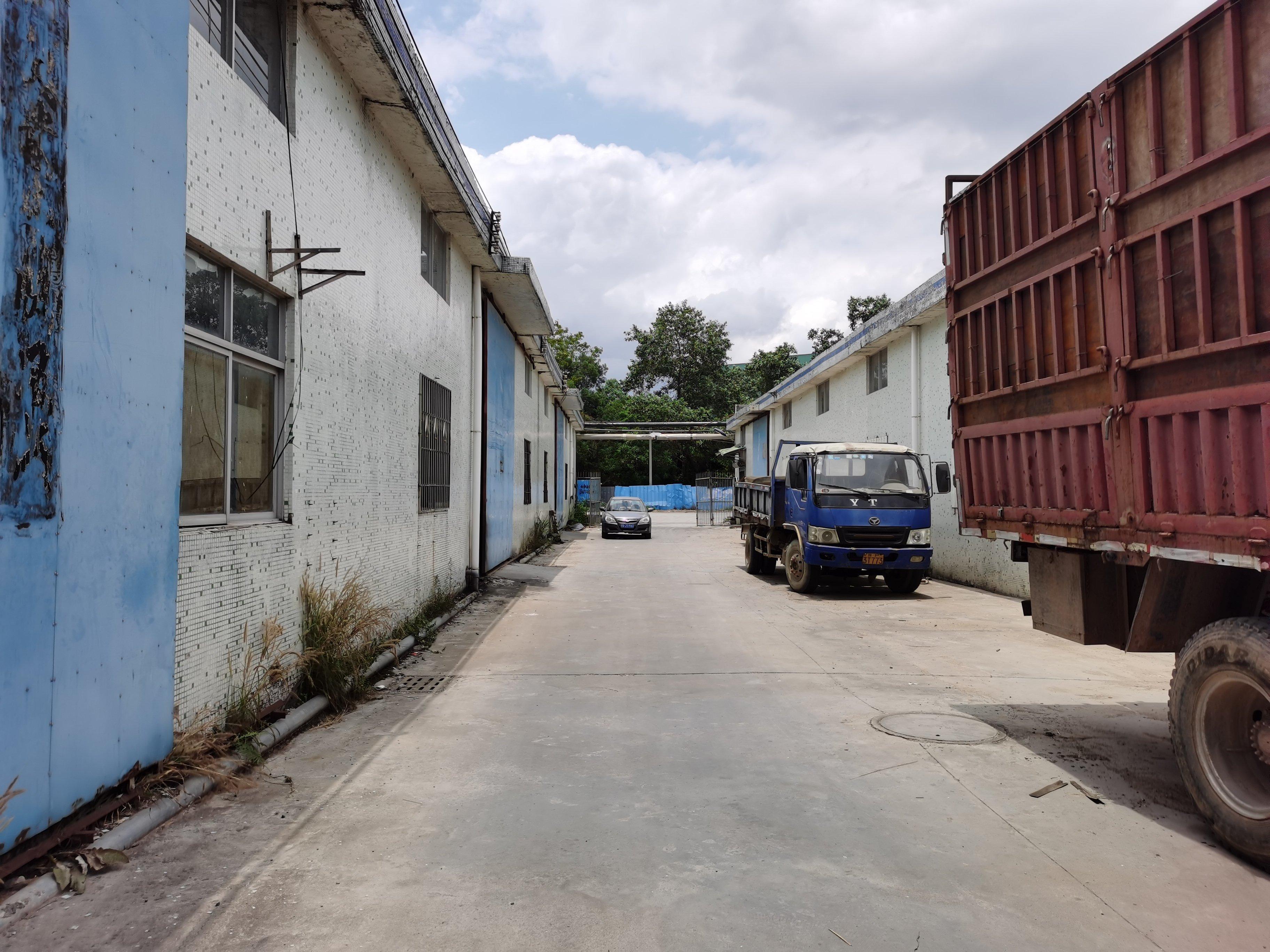 惠州市镇隆镇高田单一层钢构厂房出租1500㎡