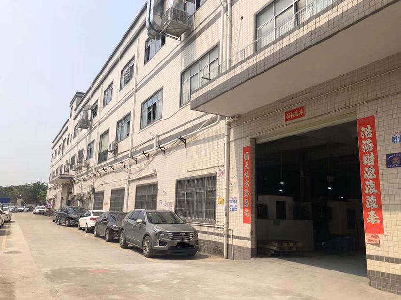 (无转让费)太和永兴工业园区独院厂房分租二楼精装修全新地坪漆