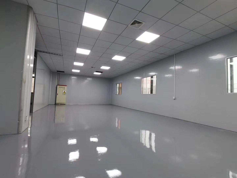 石湾镇工业园区分租三楼带现成装修地坪漆