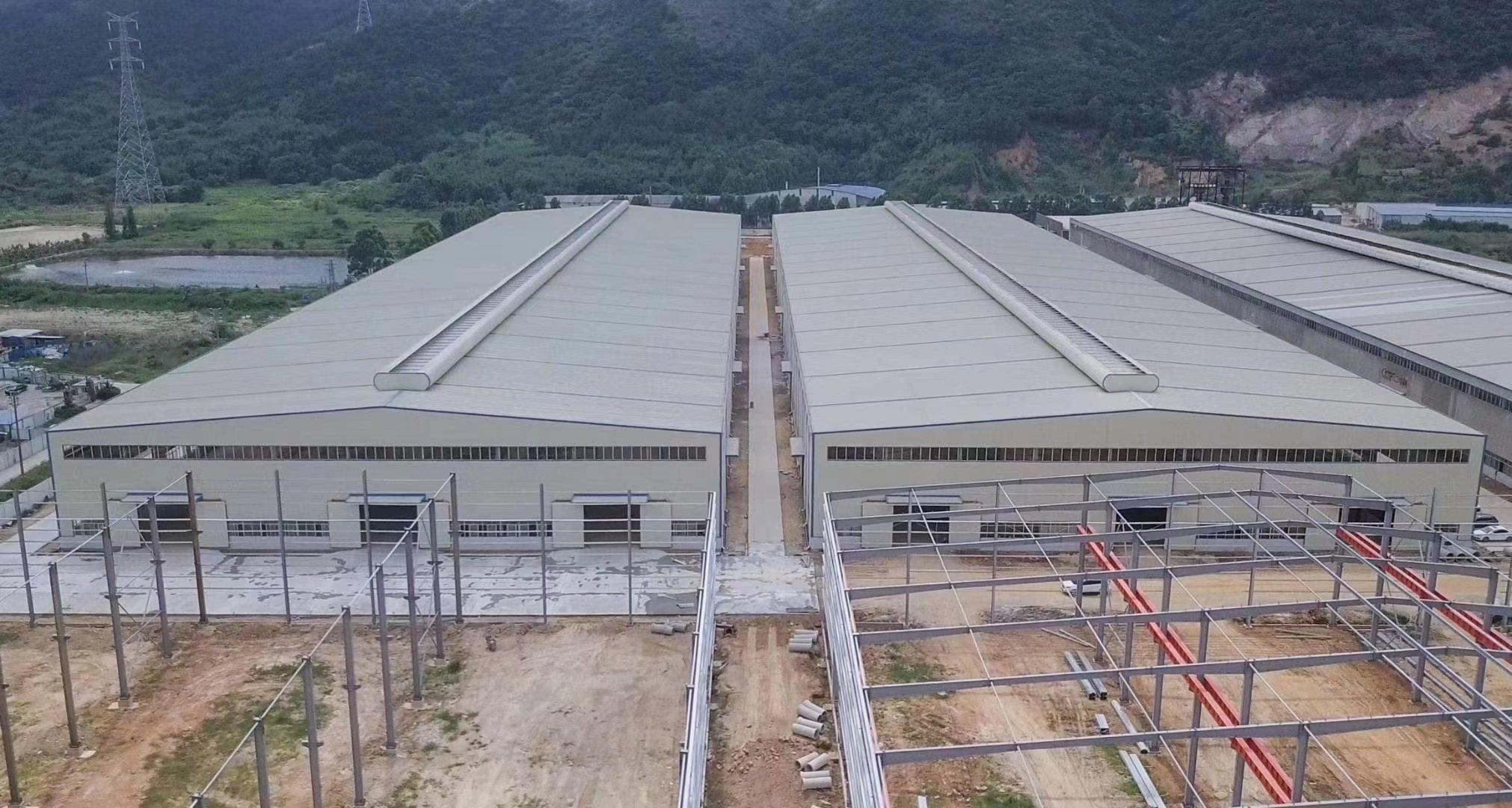 肇庆金利镇花园厂房70000平方钢构有房产证蒸汽管道天然气管-图8
