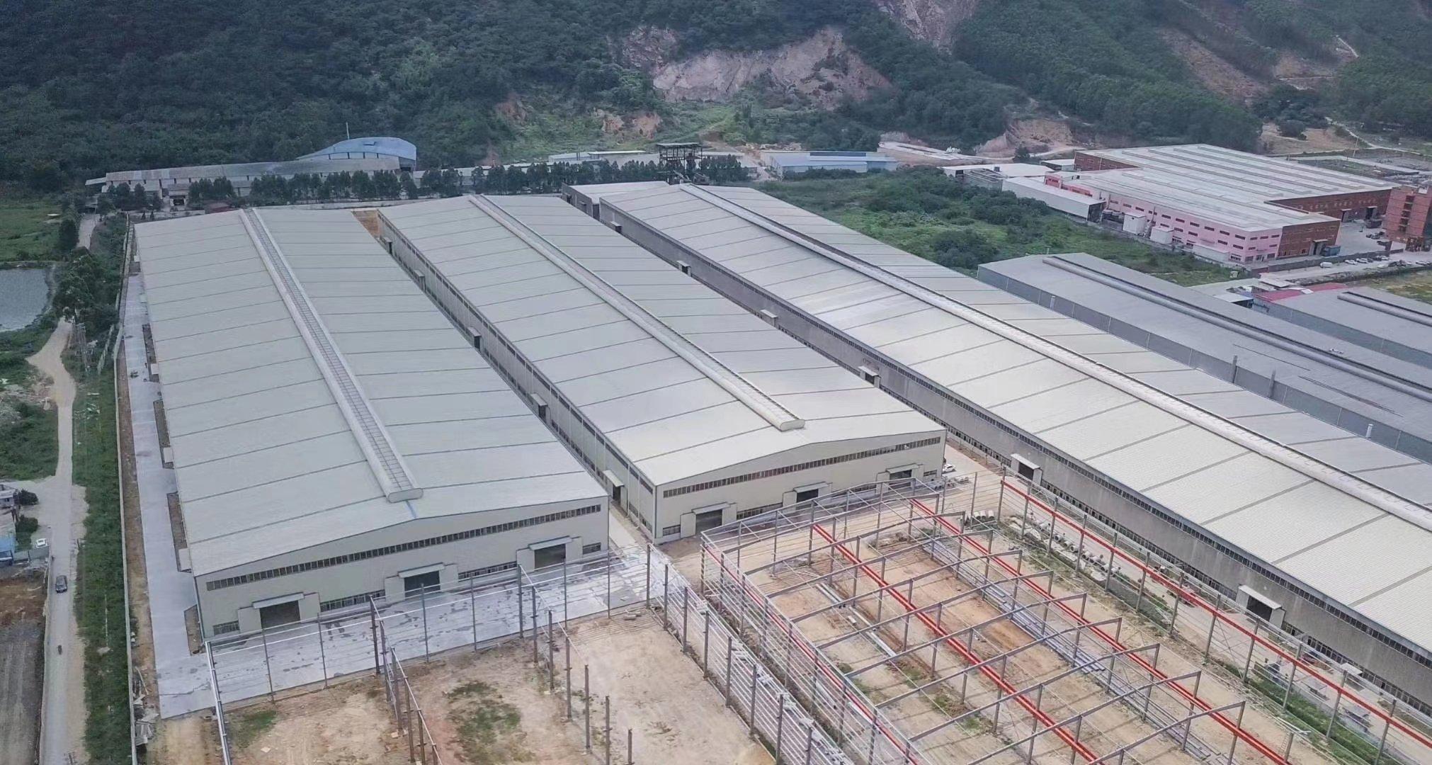 肇庆金利镇花园厂房70000平方钢构有房产证蒸汽管道天然气管-图3