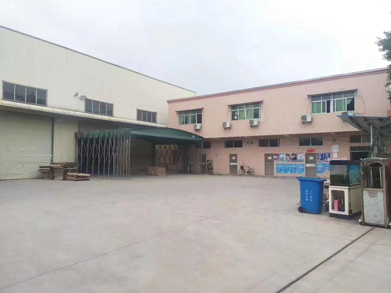 惠州市博罗县罗阳镇新出原房东独院钢构厂房出租带现成卸货平台