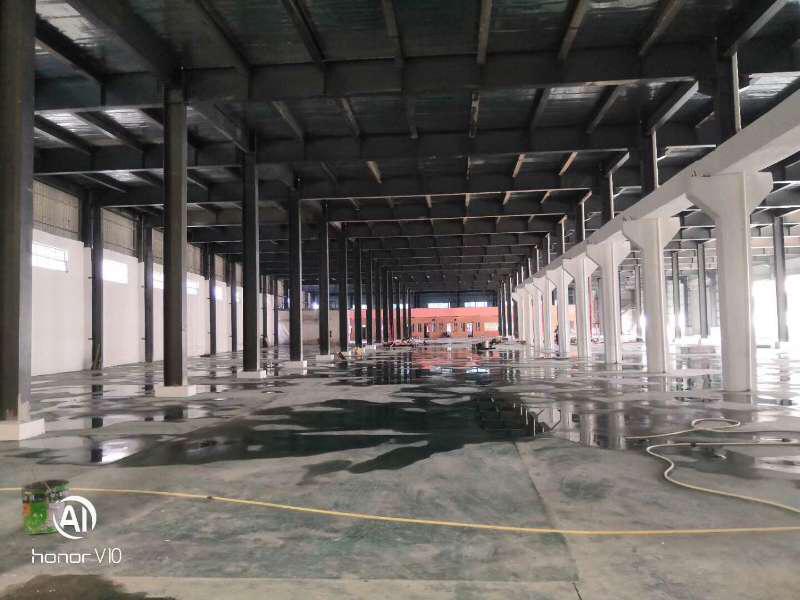 新出仓库7000平方,带单边卸货平台,可以分租,空地4000
