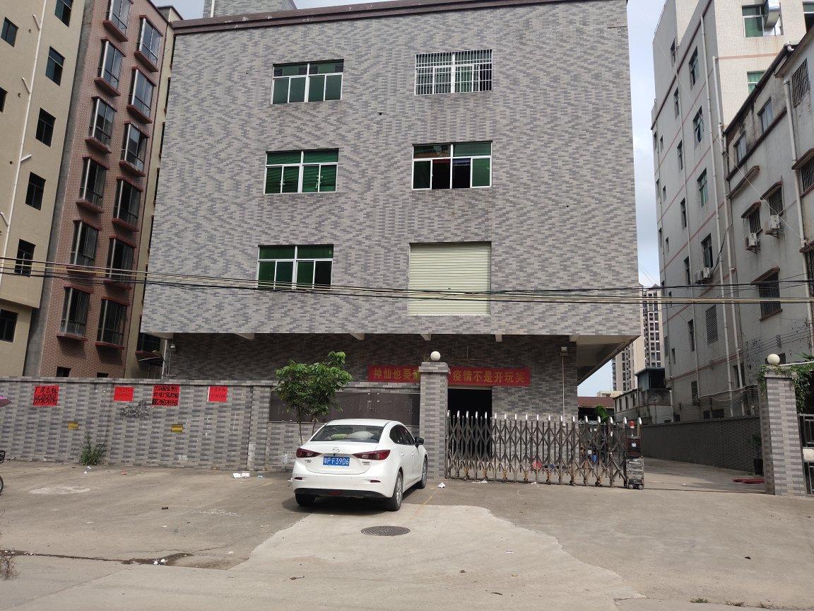 马安镇工业园独门独院红本厂房1-4楼4463平方出租