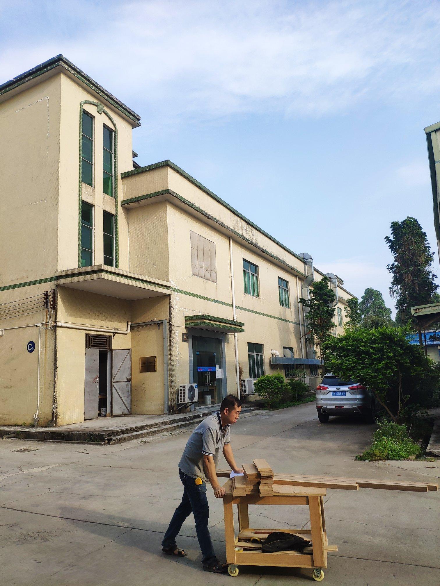 花都狮岭皮具城国有小独院6060平米小厂房出售