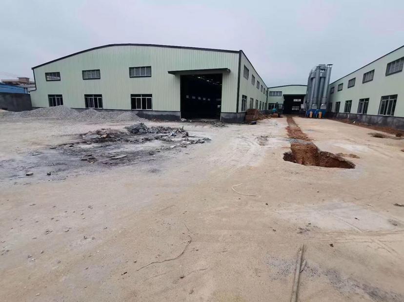 博罗龙溪原房东独院钢构厂房招租滴水8米带家私环评