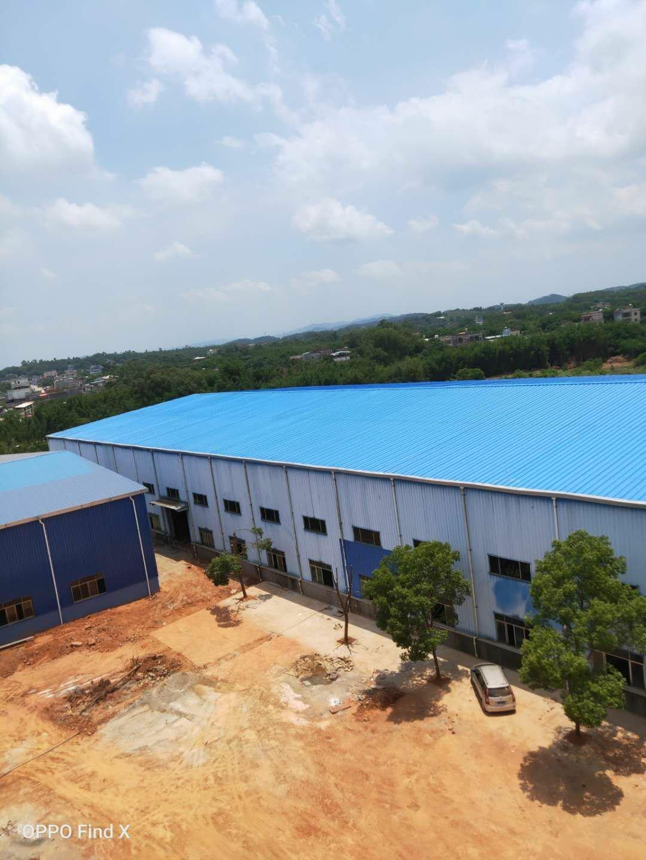 博罗县柏塘镇原房东新建滴水10米钢构5250平米不动产权证等