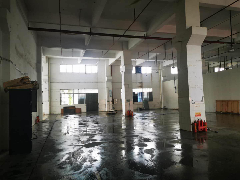 马安镇新乐工业区新出一楼带牛角厂房出租面积680