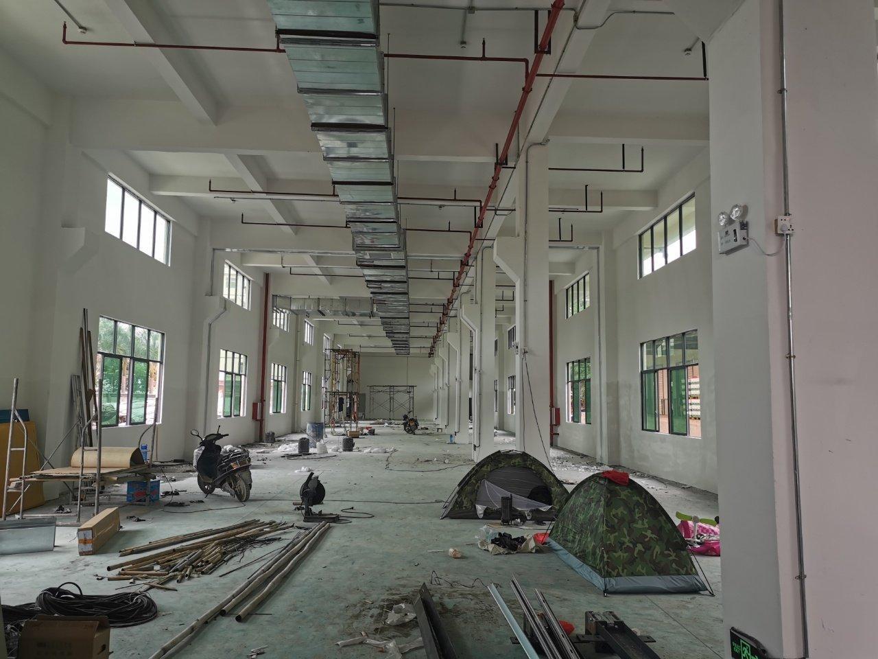 陈江主干道路旁边工业园全新厂房4000平米招租