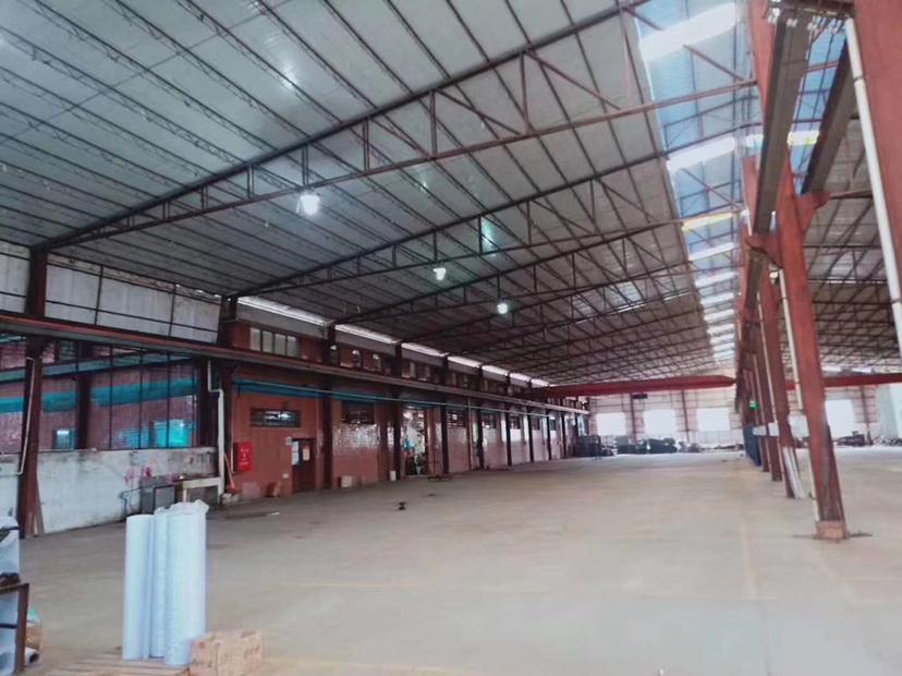 伦教原房东红本钢构2600平方实际面积,带现成行车低价出租