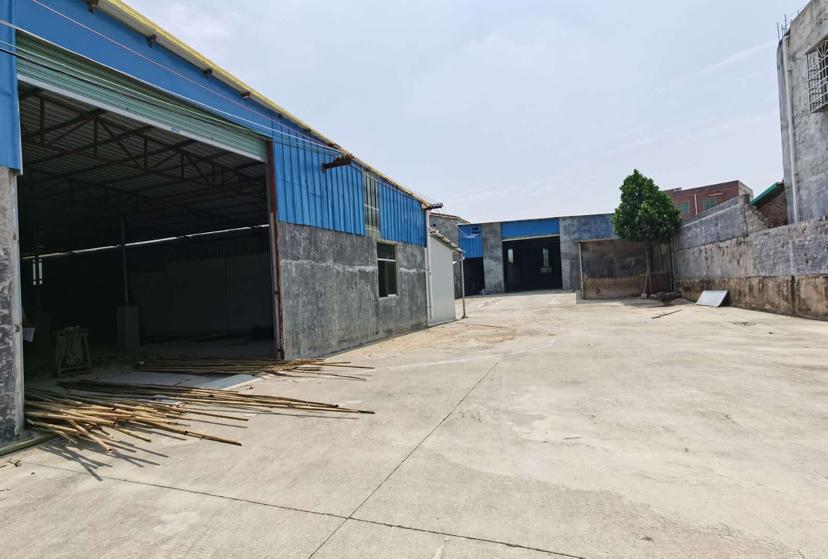 园洲镇原房东2000平米钢构厂房只租9元