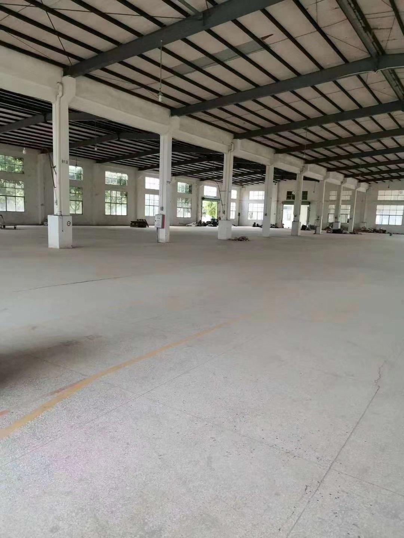 惠州市平潭镇14000平单一层独院钢构厂房出租空地